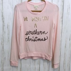Ultra Soft Southern Christmas Crew Neck Sweater